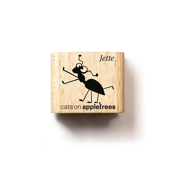 cats on appletrees Ministempel Ameise Jette
