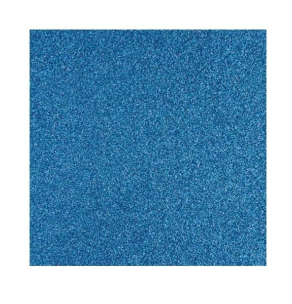 Rayher Glitzerpapier azurblau