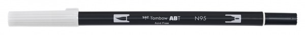 Tombow Dual Brush Pen - Cool Gray 1 - Grauton kalt 1
