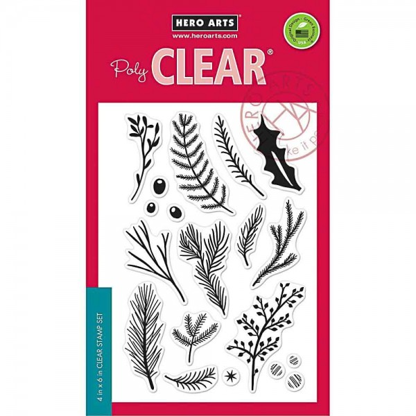 Hero Arts Clearstempel Holiday Pine Branches