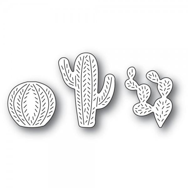 Poppystamps Stanzdie - Whittle Cactus Trio