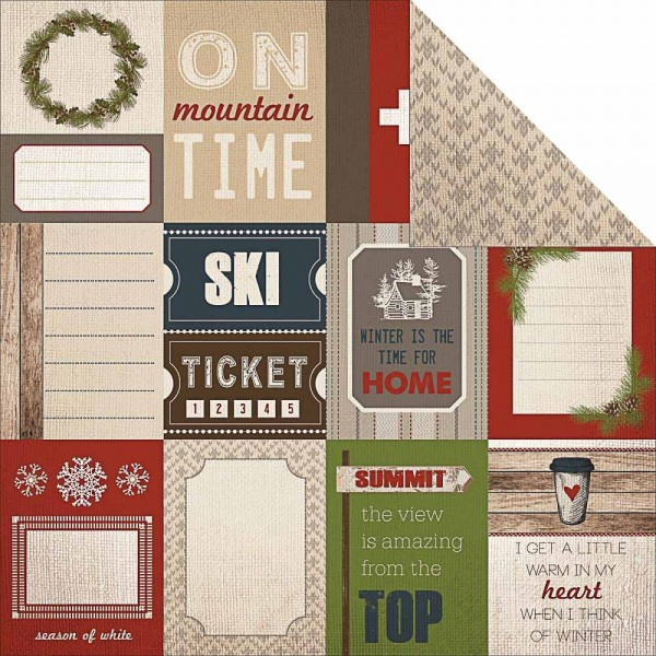 Carta Bella warm and cozy Journaling cards