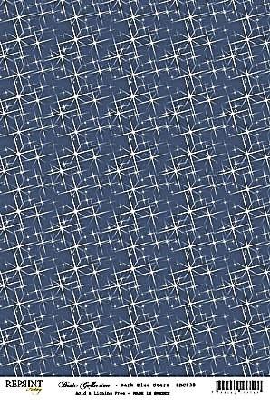 Reprint Hobby Basic Collection Dark Blue Stars
